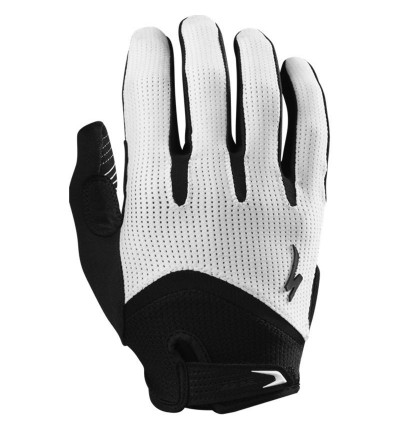 Gants Specialized BG Gel WireTap Blanc